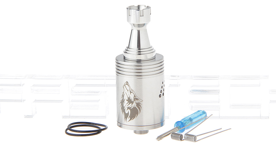 Wolf Howl Styled RDA Rebuildable Dripping Atomizer