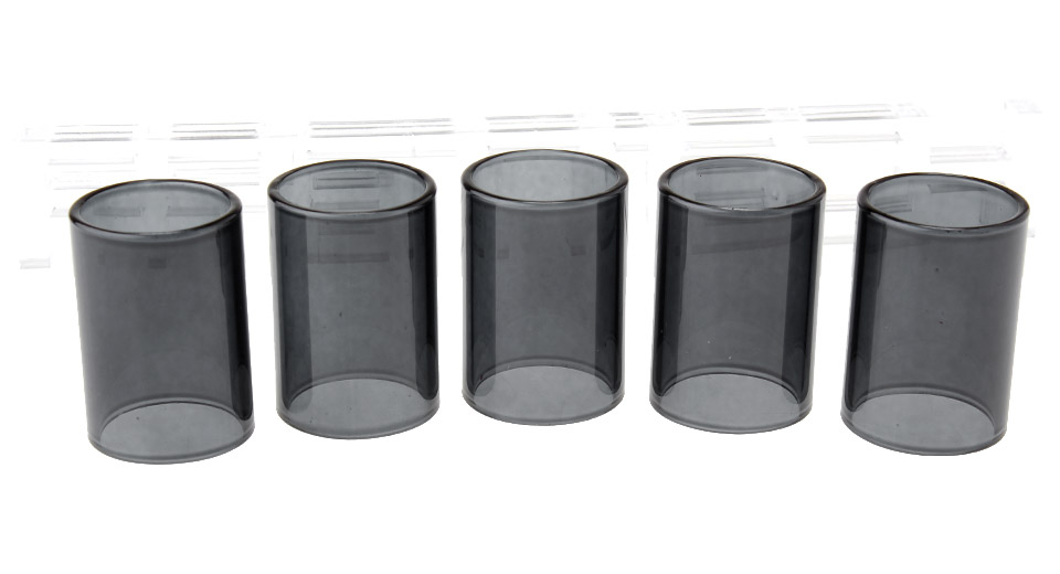 Replacement Glass Tank for Atlantis V2 Clearomizer (5-Pack)