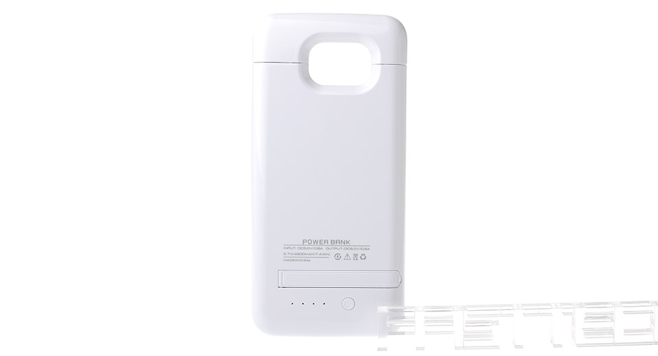 4200mAh Rechargeable External Battery Case for Samsung Galaxy S6/S6 Edge