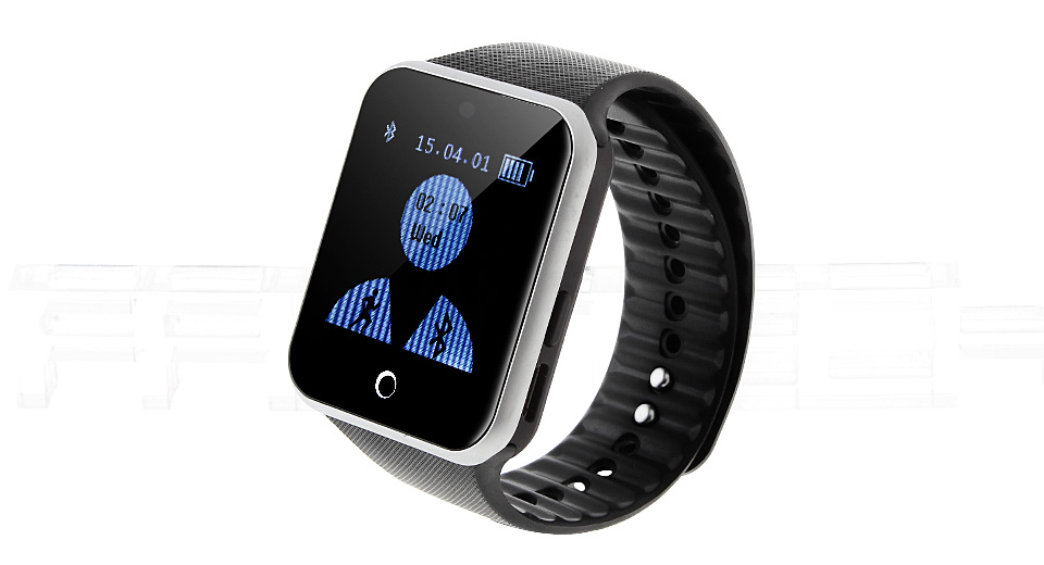 W15 1.5 Touch Screen Bluetooth V3.0 Smart Watch Phone