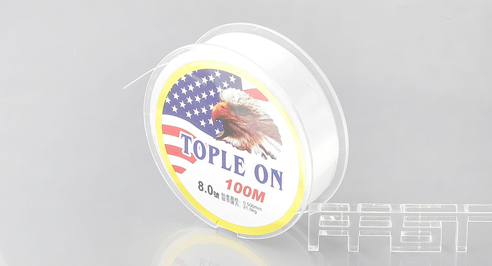 TOPLE ON 0.5mm*100m Nylon Fishing Line