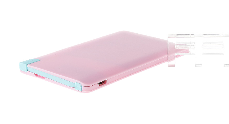 M/CB001 Ultra-Slim Card Styled 2600mAh Mobile Power Bank
