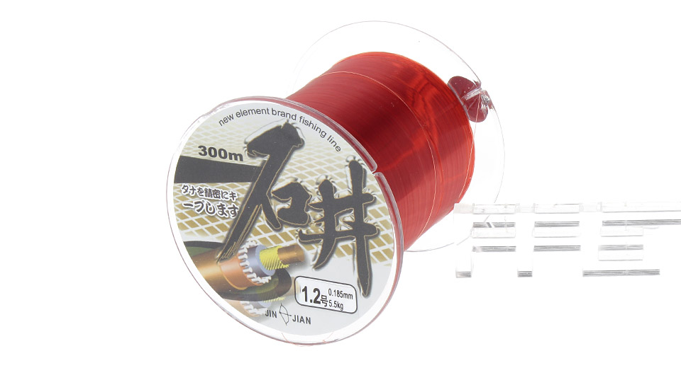 SHIJING 1.2# 0.185mm*300m High Power Nylon Fishing Line Spool