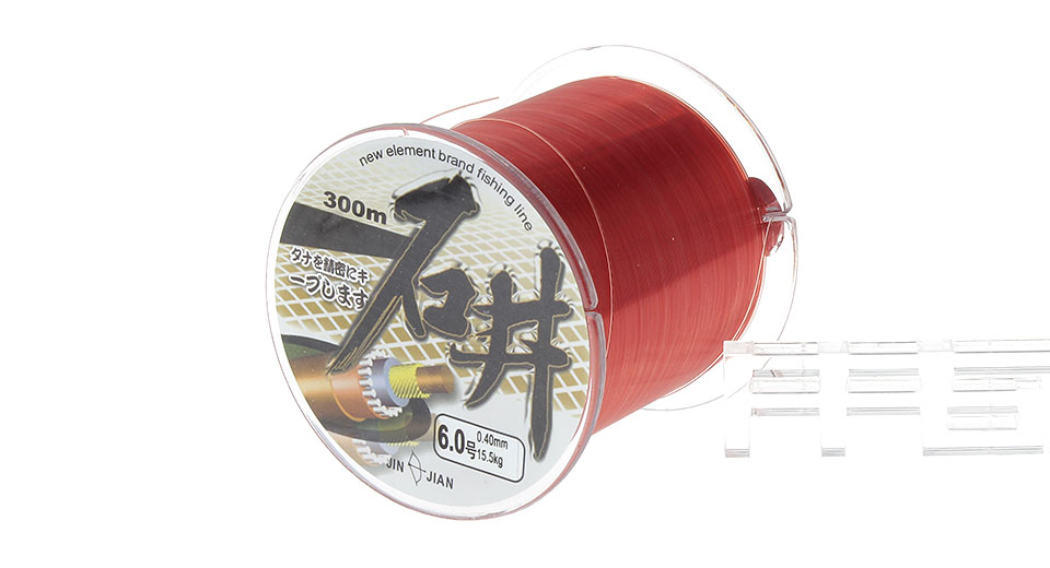 SHIJING 6# 0.4mm*300m High Power Nylon Fishing Line Spool