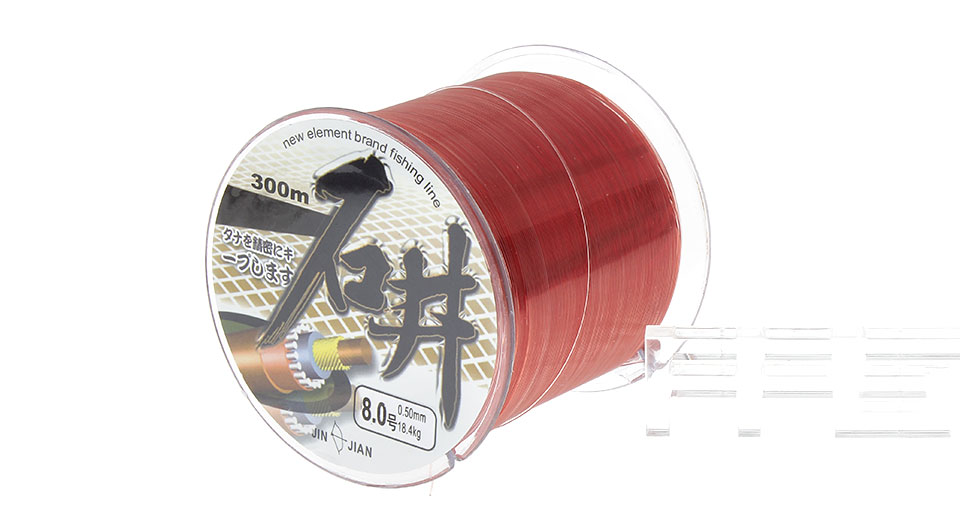 SHIJING 8# 0.5mm*300m High Power Nylon Fishing Line Spool