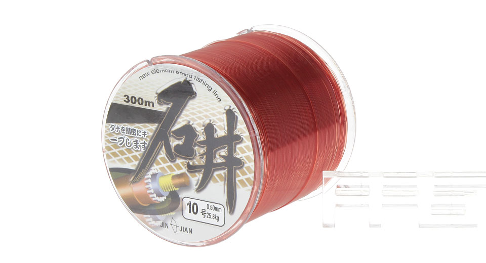 SHIJING 10# 0.6mm*300m High Power Nylon Fishing Line Spool