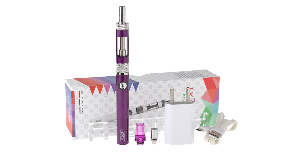 LK-VAPE K1 Vaping Pen 650mAh Rechargeable E-Cigarette Starter Kit