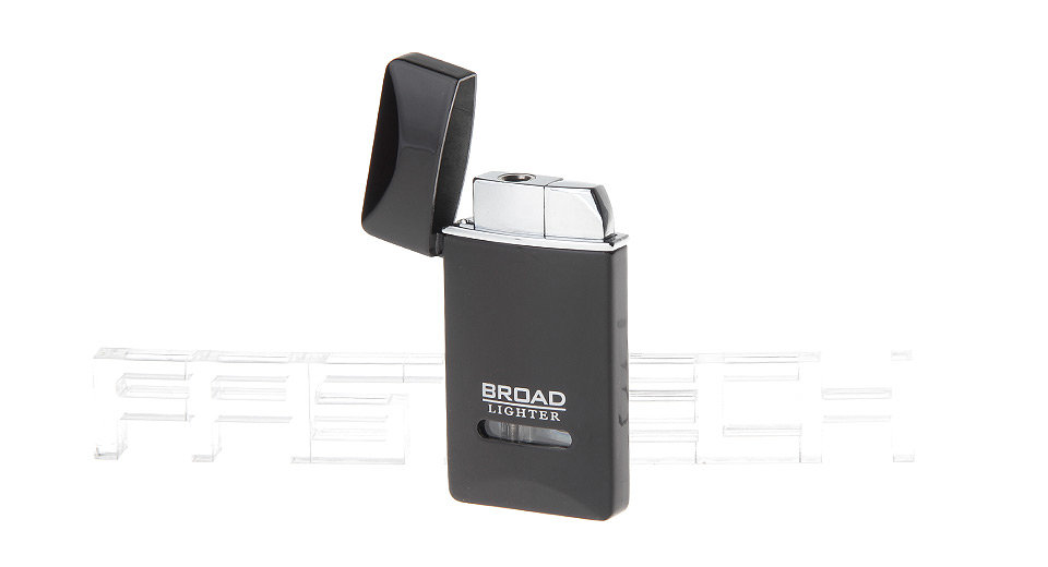 BD226 Windproof Adjustable Refillable Butane Gas Lighter