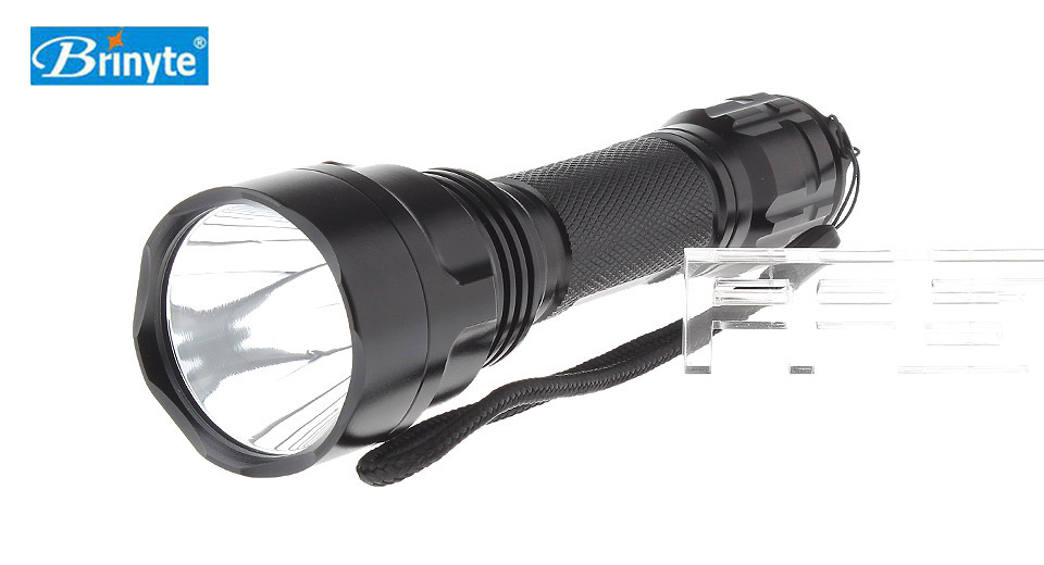 Brinyte B88U 1*Cree XM-L2 5-Mode 1200LM Pure White LED Flashlight