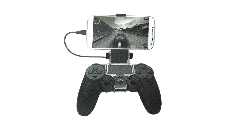Mobile Phone Clamp Holder Stand for PS4 Game Controller