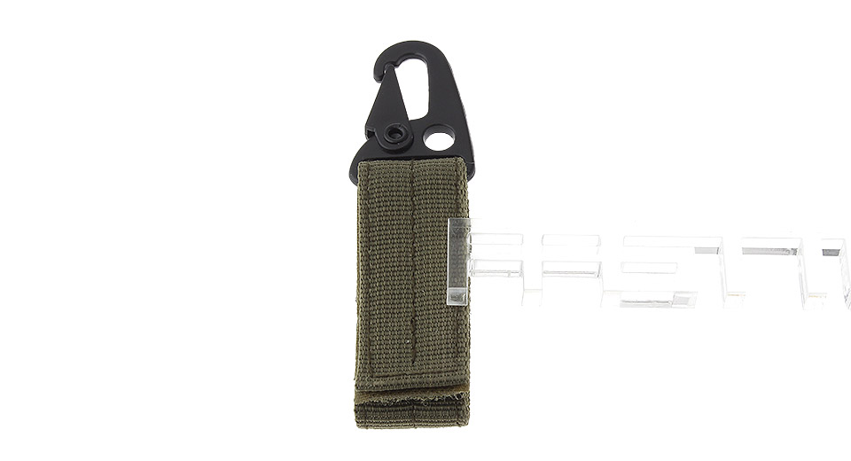 Tactical Nylon Hook Carabiner for Molle Bags
