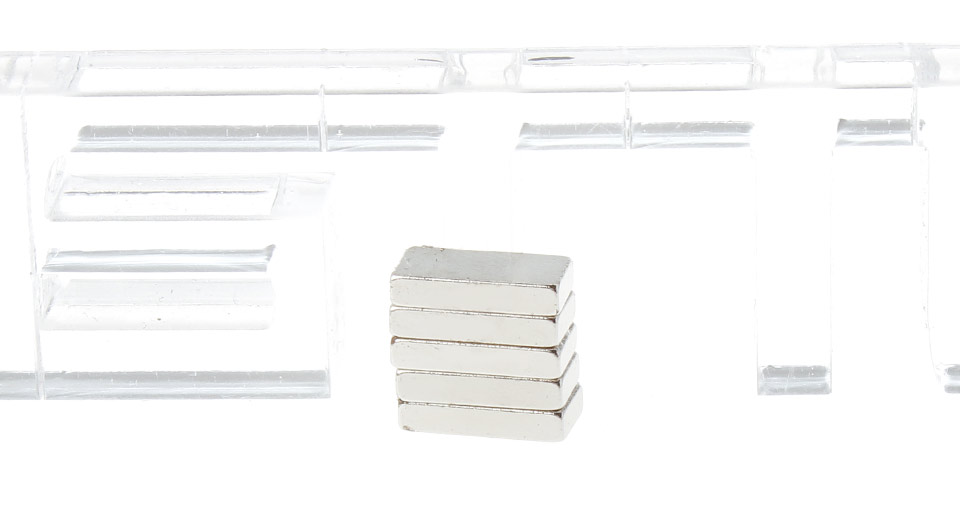 Rare-earth S-NdFeB Rectangle Magnets (5-Pack)