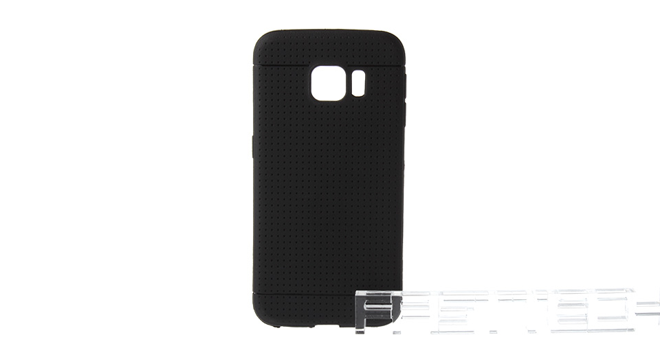 Protective Silicone Back Cover Case for Samsung Galaxy S6 Edge