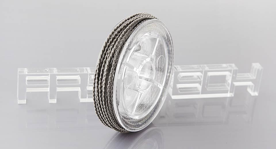 FeCr Alloy Coiled Resistance Wire for Rebuildable Atomizers
