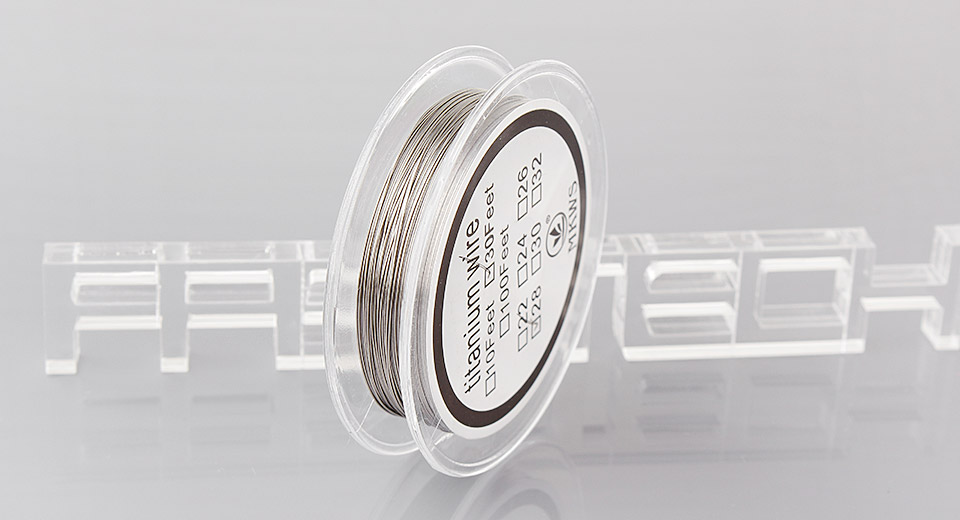 Authentic MKWS Titanium Heating Wire for Rebuildable Atomizers