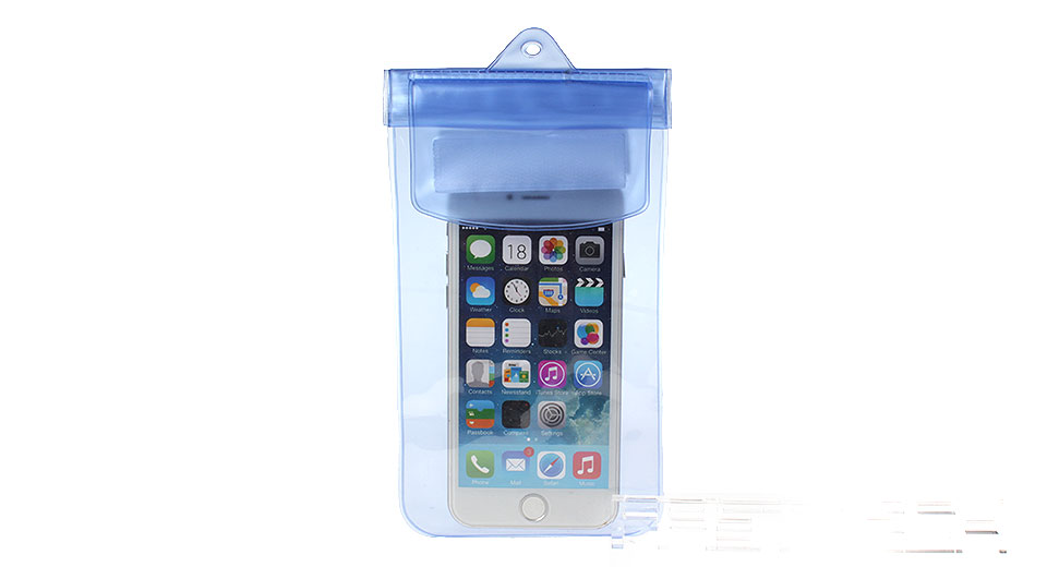 Protective PVC Waterproof Pouch w/ Armband for Cellphone within 5.7