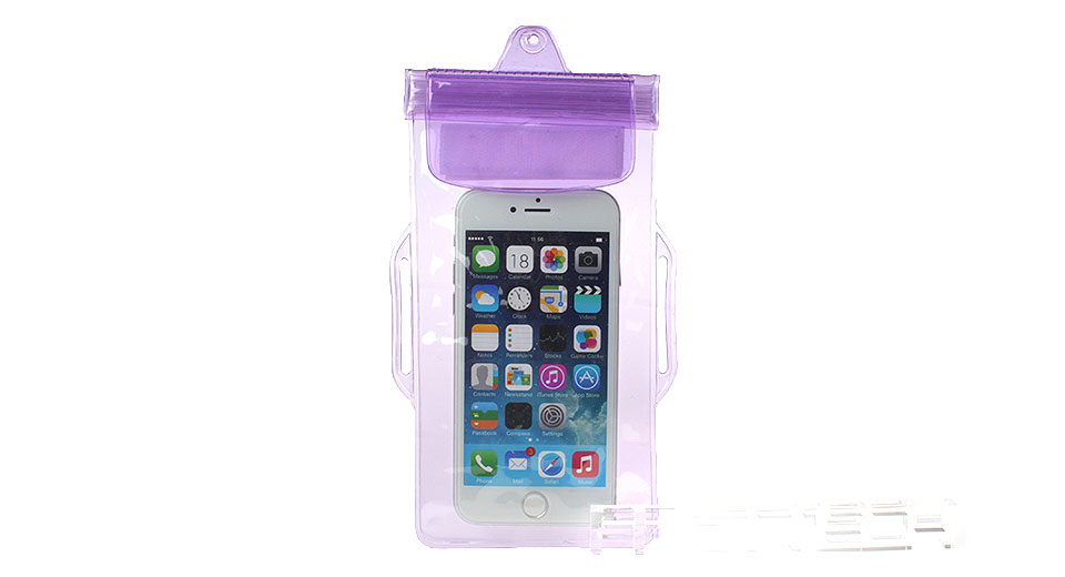Waterproof PVC Protective Case Armband Bag for Cellphones within 5.7