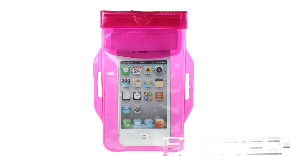 Waterproof PVC Protective Case Armband Bag for Cellphones within 5
