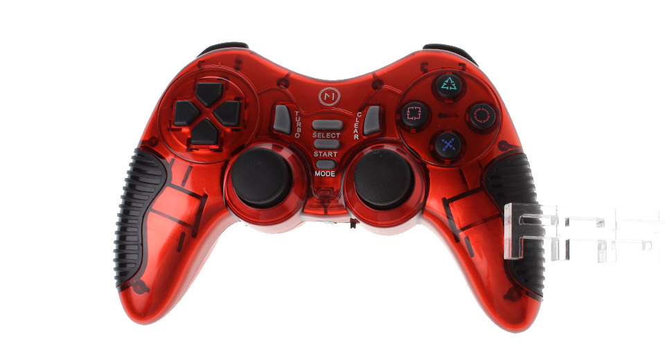 Authentic N1 N1-W320 6-in-1 2.4GHz Wireless Game Controller for PC / PS2 / PS3 & More