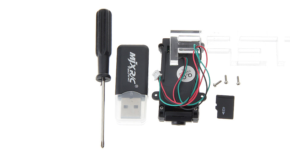 C4002 FPV 0.3MP Aerial Camera Components for MJX X400 / X500 / X800 R/C Helicopter