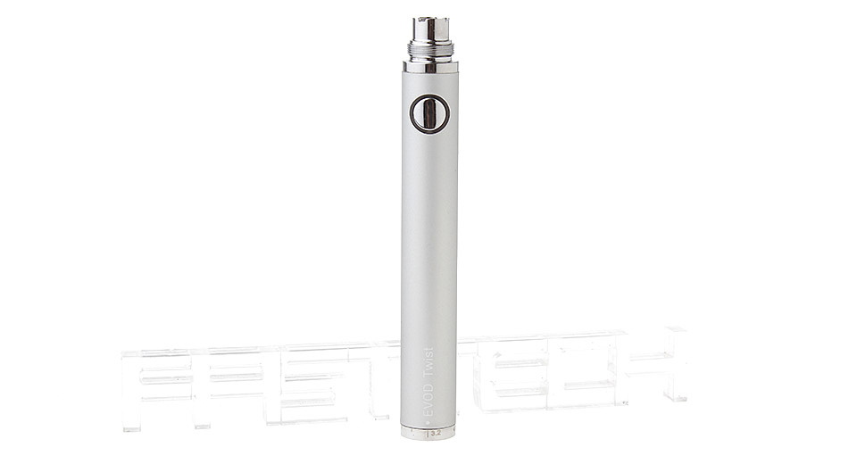 EVOD Twist 650mAh Variable Voltage Rechargeable Battery