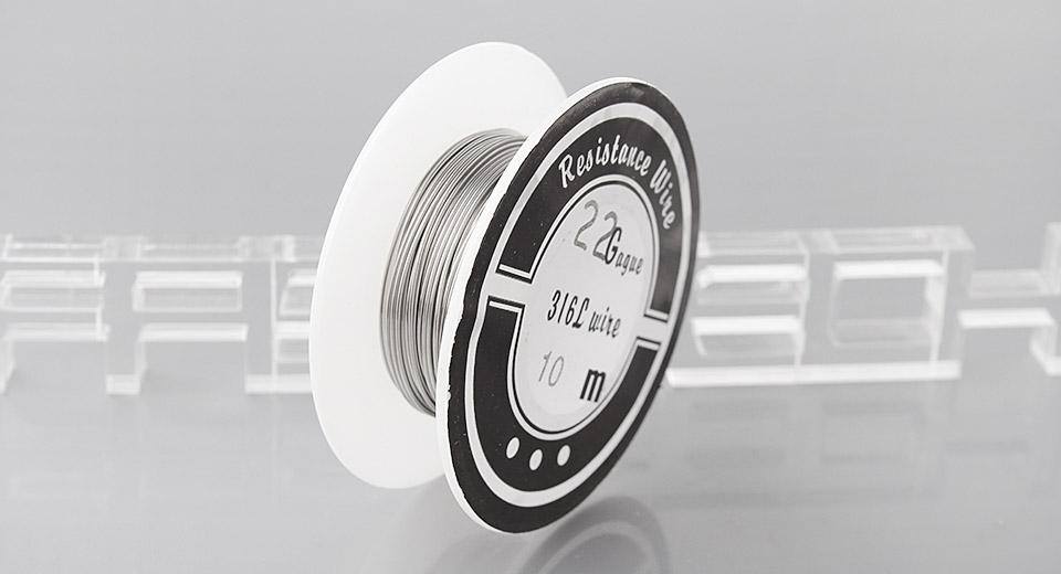 316L Stainless Steel Heating Wire for Rebuildable Atomizers
