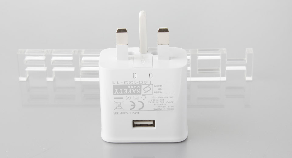 Single USB Fast Charger Power Adapter for Samsung Galaxy S6 Edge & More