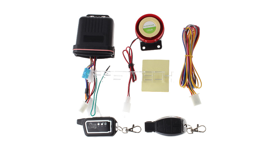 F-002 Motorcycle Anti-Theft Security Alarm System