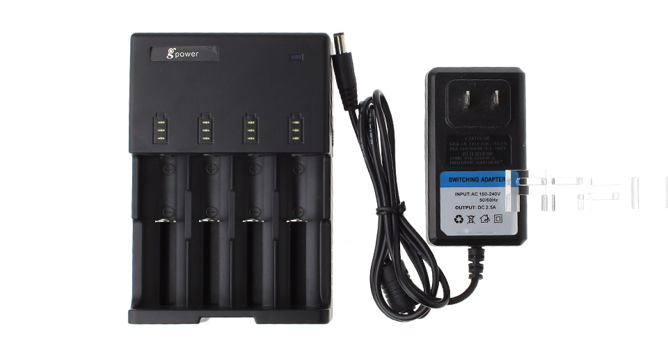 Gpower GZ-4H 4-Slot Intelligent Battery Charger
