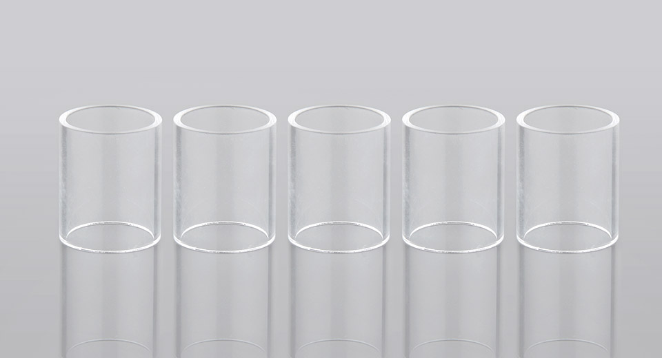 Authentic Smoktech TFV4 Mini Replacement Glass Tank (5-Pack)
