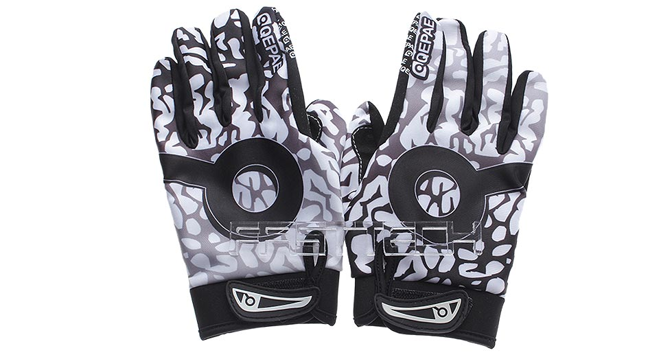 Authentic QEPAE QG7506 Sports Cycling Full Finger Gloves (Size M)