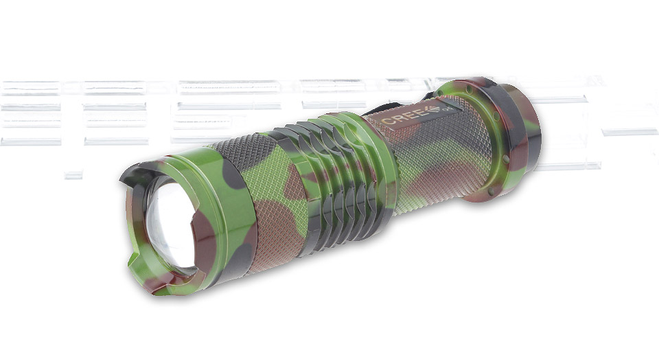 UltraFire SK68 LED Flashlight w/ Focus Zoom