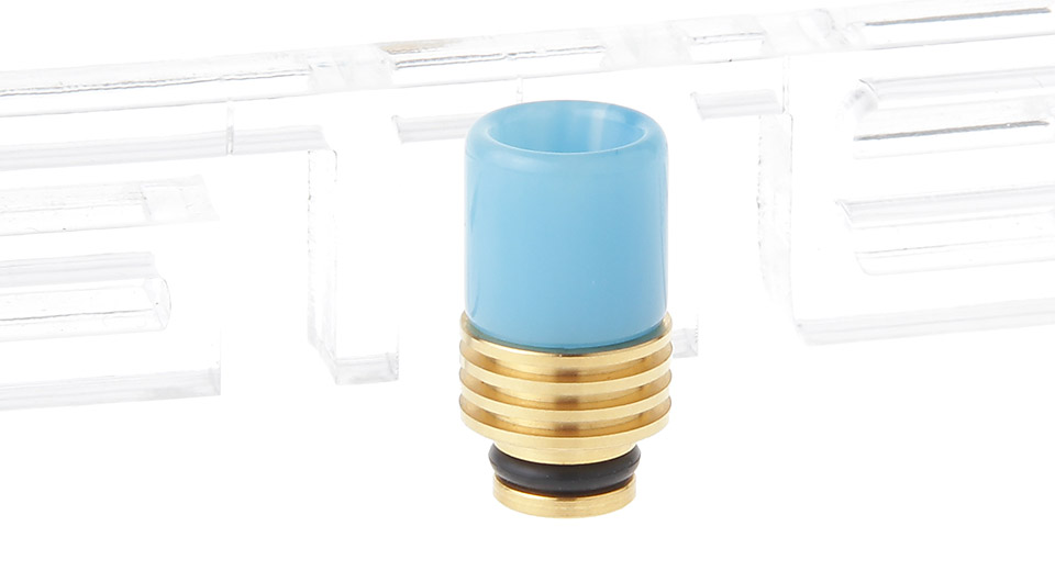 Resin 510 Drip Tip w/ Stainless Steel Base