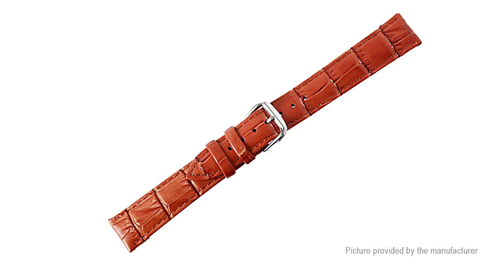 Replacement Leather Watchband