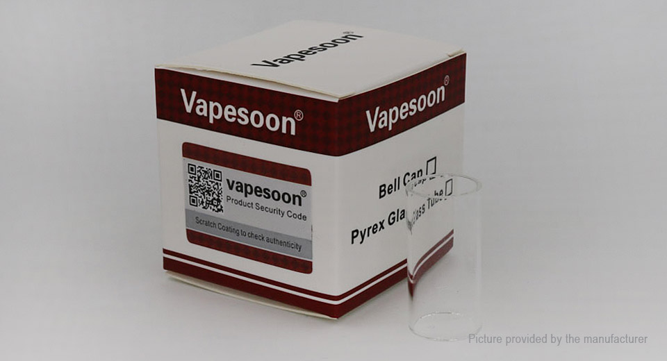 Authentic Vapesoon Glass Tank for SD Dry Content Vaporizer