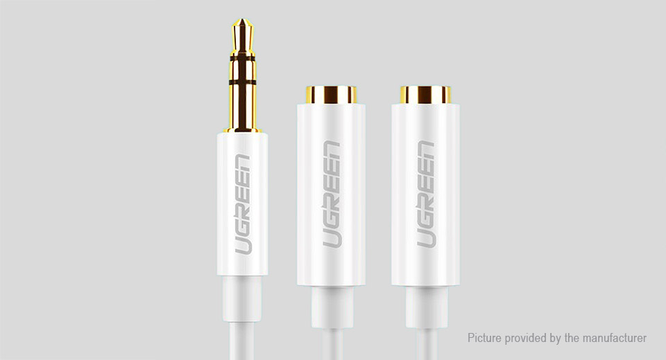 UGREEN 1-to-2 3.5mm Audio Splitter Cable (25cm)