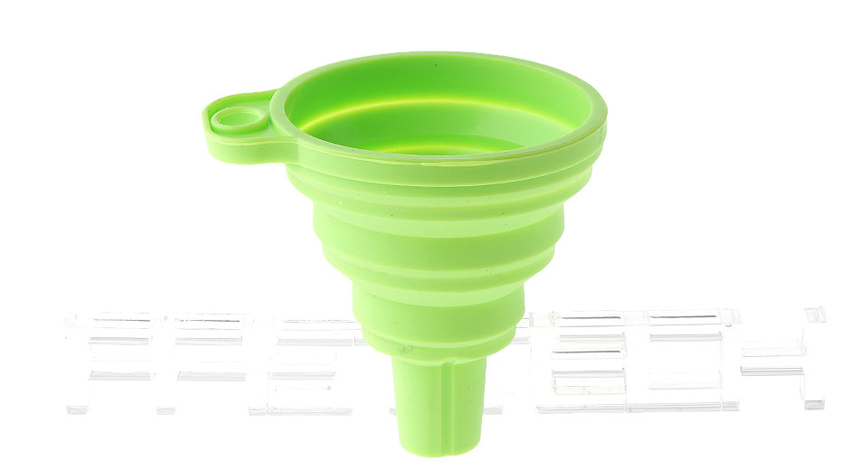 Silicone Collapsible Mini Filling Liquid Oil Water Funnel Kitchen Tools