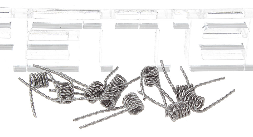 $1.97 Kanthal A1 Fused Clapton Pre-Coiled Wires for RBA