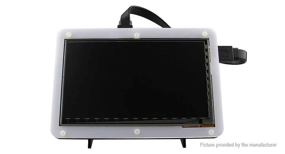 7 Capacitive Touch Screen LCD Monitor Stand Bracket for Raspberry Pi