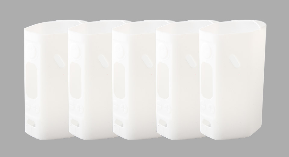 Protective Silicone Sleeve Case for Wismec Reuleaux RX200S 200W Mod (5-Pack)