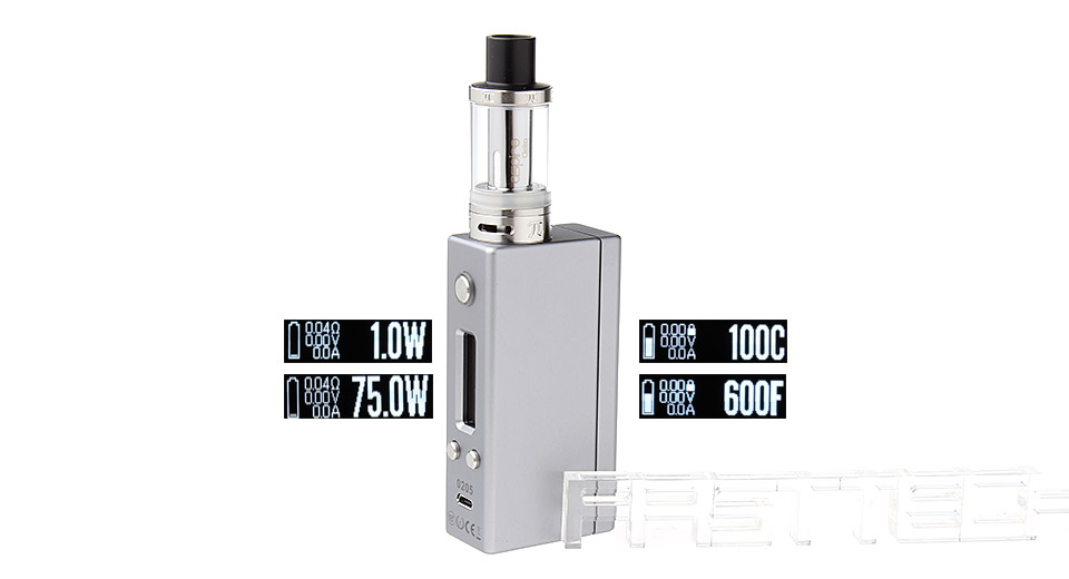 Authentic SD Mini 75W TC VW APV Box Mod Kit