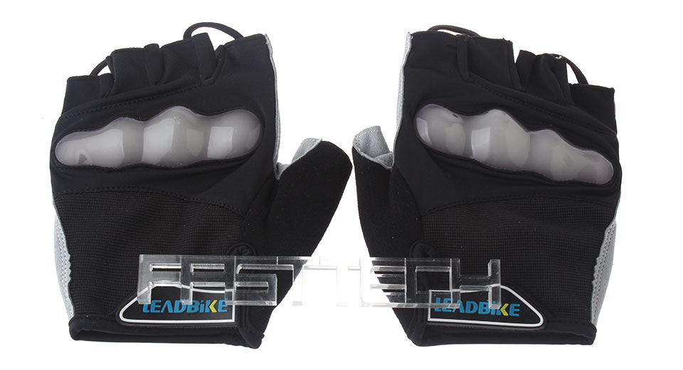 Leadbike Cycling Reflective Half-finger Gloves (Size XL)