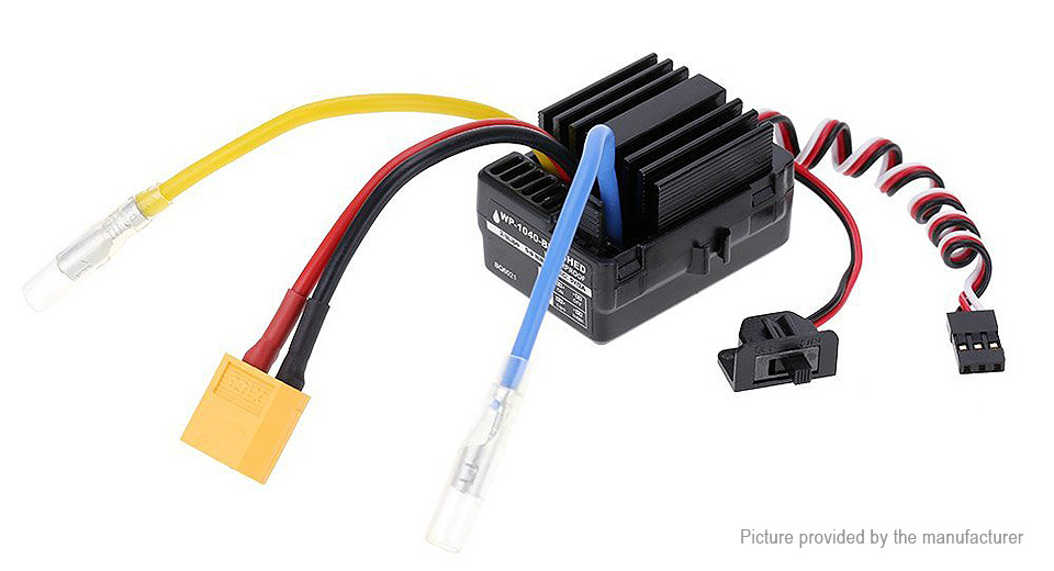 Authentic HOBBYWING WP-1040 40A Brushed ESC Speed Controller
