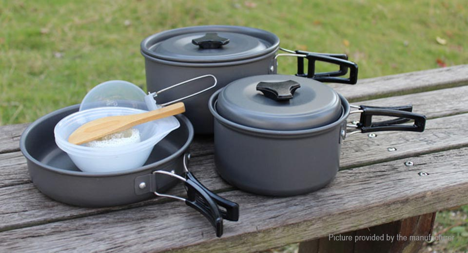 Portable Outdoor Camping Pot Cooking Set