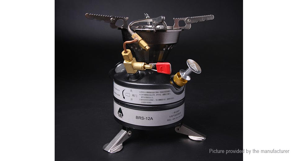 Authentic BRS BRS-12A Portable Outdoor Camping Oil Stove
