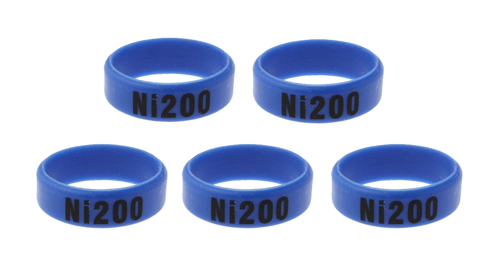 Silicone Anti-slip Ring for E-Cigarettes Atomizers / Mods (5-Pack)