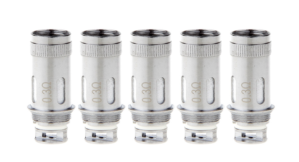 Replacement Coil Head for DIY Mouth Feel RTA Atomizer (5-Pack)