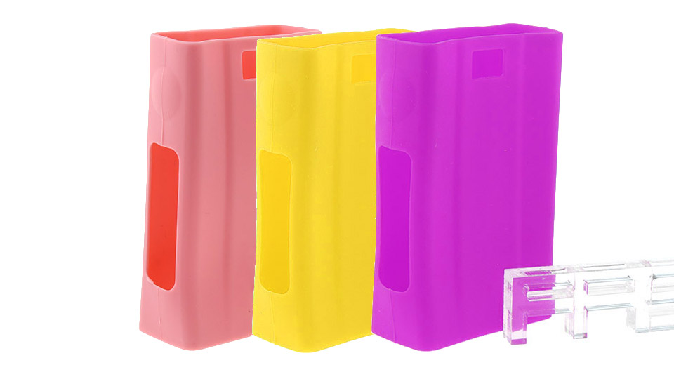 Protective Silicone Sleeve Case for Joyetech eVic VTwo 80W TC VW Mod (3 Pieces)