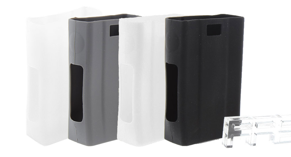 Protective Silicone Sleeve Case for Joyetech eVic VTwo 80W TC VW Mod (4 Pieces)