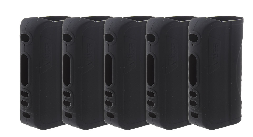 Authentic HCigar Protective Silicone Sleeve Case for VT75 75W Mod (5-Pack)